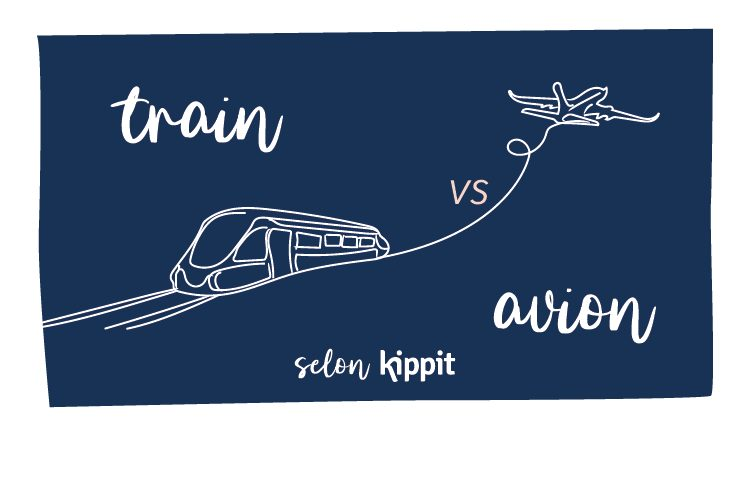 Train vs Avion